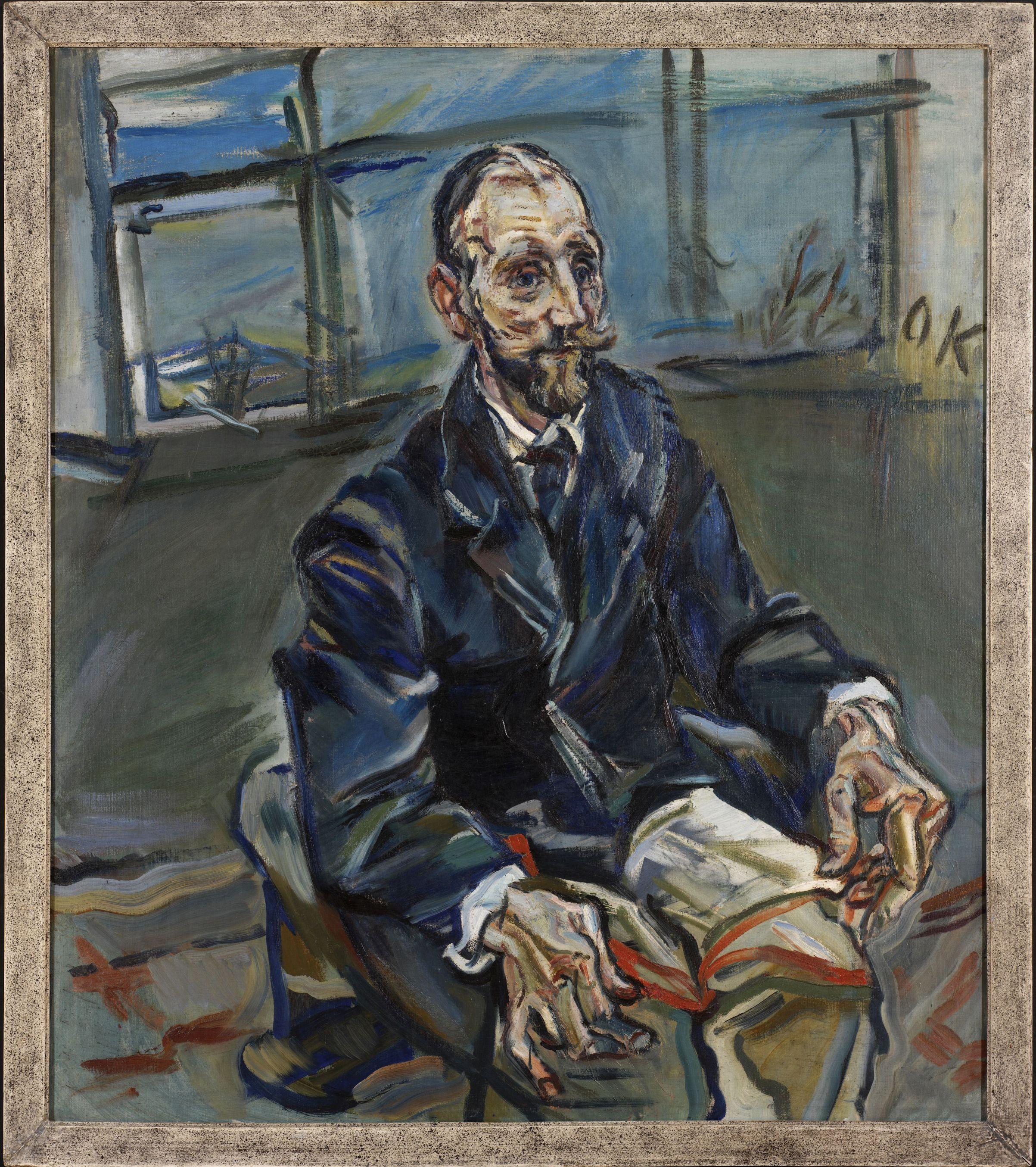 Oskar Kokoschka: Porträt Franz Hauer, ca. 1914