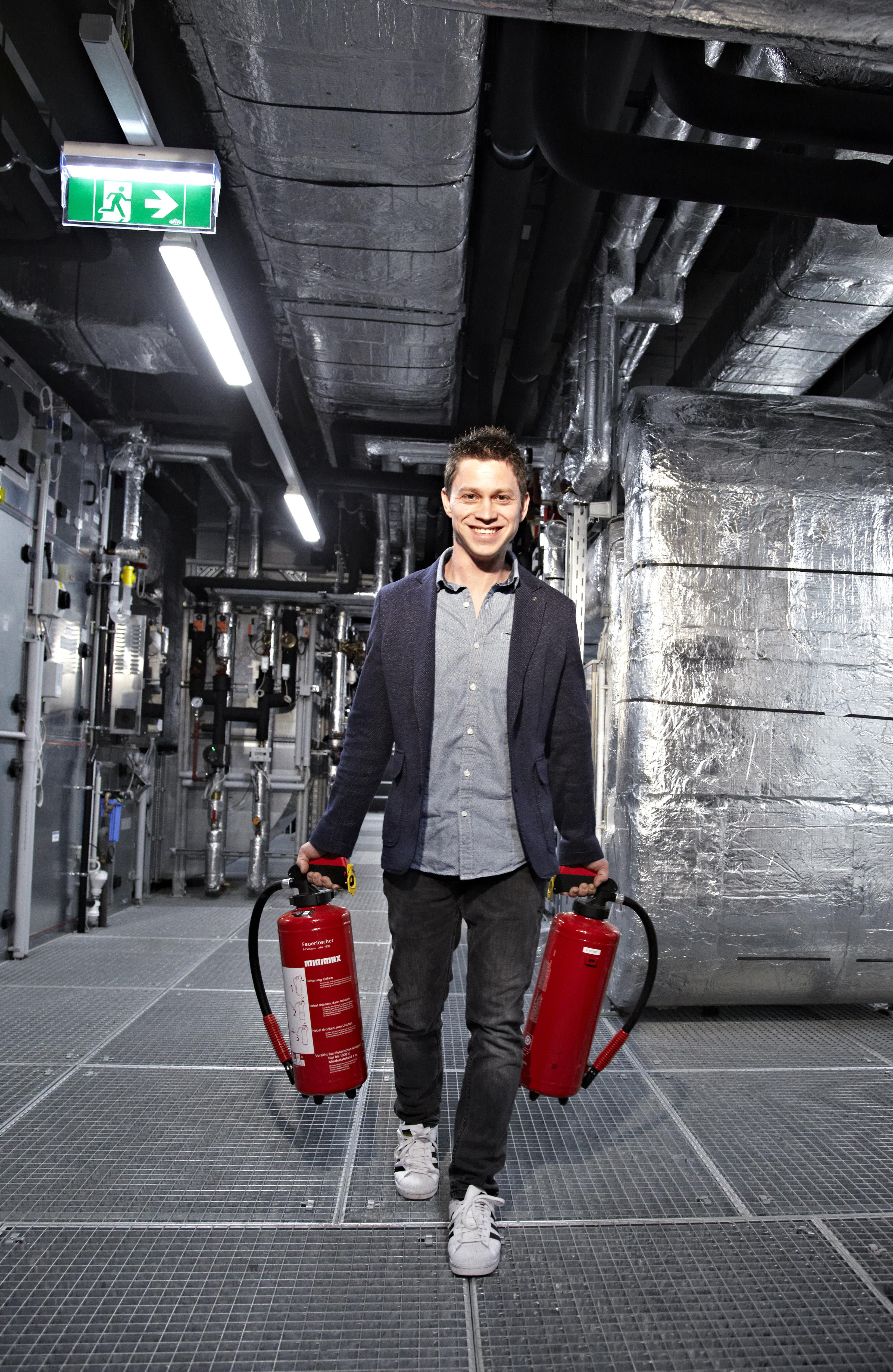 Markus Lehmerhofer, Haustechniker